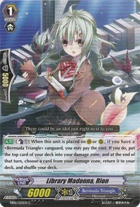 Cardfight Vanguard ENGLISH Dazzling Divas Single Card Common EB06/025 Library Madonna, Rion