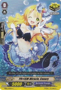 Cardfight Vanguard ENGLISH Dazzling Divas Single Card Common EB06/030 PRISM-Miracle, Canary