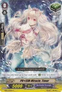 Cardfight Vanguard ENGLISH Dazzling Divas Single Card Common EB06/033 PRISM-Miracle, Timor