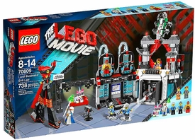 LEGO The Movie Set #70809 Lord Business' Evil Lair