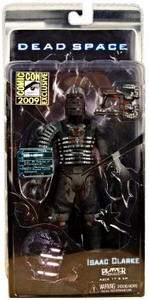 NECA Dead Space 2009 SDCC San Diego Comic-Con Exclusive Action Figure Isaac Clarke in Unitology Suit