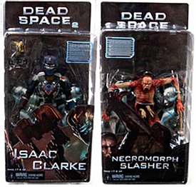 NECA Dead Space 2 Set of Both Action Figures [Isaac Clarke & Necromorph Slasher]