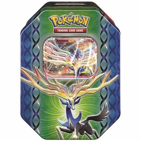 Pokemon X & Y Spring 2014 Legends of Kalos Xerneas Tin Pre-Order ships March 13, 2014