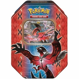 Pokemon XY Spring 2014 Legends of Kalos Yveltal Tin New!