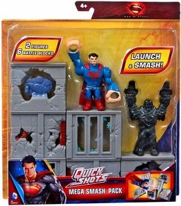 Man of Steel Movie Quick Shots Mega Smash Pack