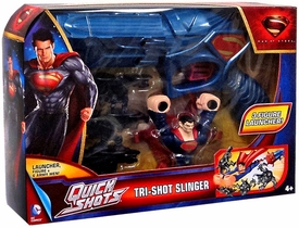 Man of Steel Movie Quick Shots Tri-Shot Slinger