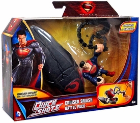 Man of Steel Movie Quick Shots Battle Pack Cruiser Smash