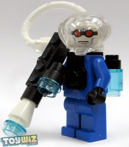 LEGO Batman LOOSE Complete Mini Figure Mr. Freeze with Ice Gun VERY RARE!