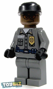 LEGO Batman LOOSE Mini Figure Arkham Asylum Guard [Black]