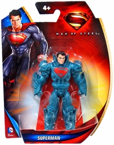 Man of Steel Movie 3 Inch Action Figure Superman [Blue Armor]