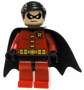 LEGO Batman LOOSE Mini Figure  Robin in Red Tights & Black Cape