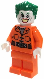 LEGO Batman LOOSE Mini Figure Joker with Orange Prison Jumpsuit [Version 3]