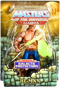 He-Man Masters of the Universe Classics Exclusive Action Figure New Adventures He-Man [Galactic Protector]