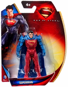 Man of Steel Movie 3 Inch Action Figure Superman [Red & Blue Armor]