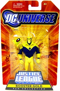 DC Universe Justice League Unlimited Fan Collection Action Figure Booster Gold
