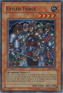 YuGiOh Legacy of Darkness Single Card Super Rare LOD-023 Exiled Force