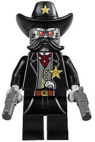 LEGO The Movie LOOSE Minifigure Sheriff Not-a-Robot