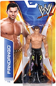 Mattel WWE Wrestling Basic Series 36 Action Figure #11 Fandango