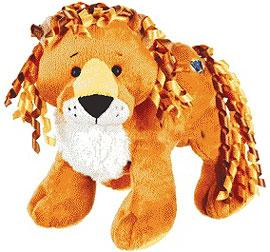 Webkinz Plush Curly Lion