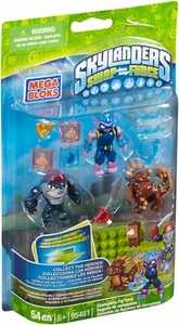 Skylanders SWAP FORCE Mega Bloks Set #95481 Champions Figure Pack [Freeze Blade, Bash & Terrafin]