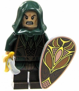 LEGO Hobbit LOOSE Mini Figure Mirkwood Elf with Sword & Shield