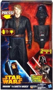 Star Wars Hasbro Action Figure Anakin To Darth Vader