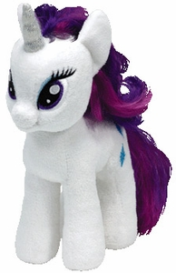My Little Pony Ty Beanie Baby Rarity