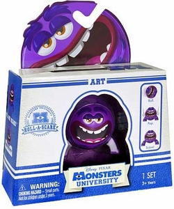 Disney / Pixar Monsters University Roll-a-Scare Figure Art
