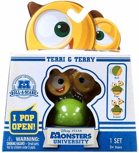 Disney / Pixar Monsters University Roll-a-Scare Figure Terri & Terry