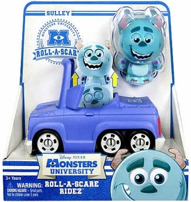 Disney / Pixar Monsters University Roll-a-Scare Ridez Sulley
