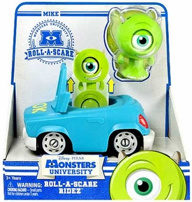 Disney / Pixar Monsters University Roll-a-Scare Ridez Mike