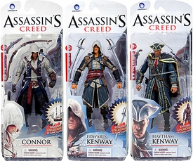McFarlane Toys Assassin's Creed Series 1 Set of 3 Action Figures [Connor, Haytham Kenway & Edward Kenway]