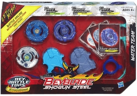Beyblades Shogun Steel 3-Pack WATER Team [Pirate Orochi, Guardian Leviathan & Pirate Kraken]