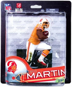 McFarlane Toys NFL Sports Picks Series 33 Collectors Club Exclusive Action Figure Doug Martin (Tampa Bay Buccaneers) Orange Retro Uniform