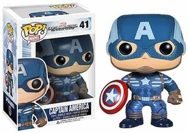 Funko POP! Marvel Winter Soldier Vinyl Bobble Head Captain America