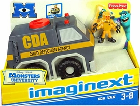 Disney / Pixar Monsters University Imaginext Vehicle CDA Van