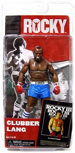 NECA Rocky Series 3 Action Figure Clubber Lang [Blue Trunks] {Rocky 3}