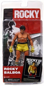 NECA Rocky Series 3 Action Figure Rocky Balboa [Gold Trunks]