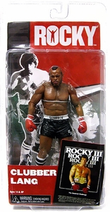 NECA Rocky Series 3 Action Figure Clubber Lang [BLACK Trunks] {Rocky 3}