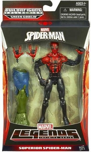Amazing Spider-Man 2 Marvel Legends Infinite Action Figure Superior Spider-Man [Build Green Goblin Piece!] Hot! BLOWOUT SALE!