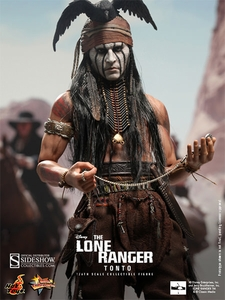 Lone Ranger Hot Toys 1/6 Scale Collectible Figure Tonto Pre-Order ships April