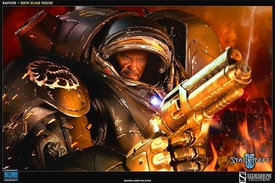 Starcraft 2 Sideshow Collectibles 1/6 Scale Collectible Action Figure Jim Raynor Pre-Order ships April