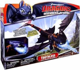 Dragons Defenders of Berk Deluxe Figure Giant Fire Breathing Toothless