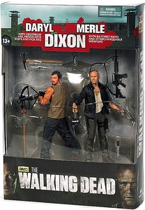 McFarlane Toys Walking Dead TV Action Figure 2-Pack Dixon Brothers [Merle & Daryl]