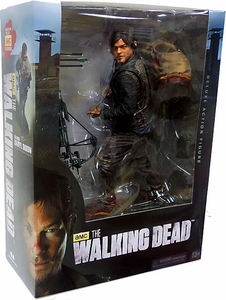 McFarlane Toys Walking Dead TV Series 1 Deluxe 10 Inch Action Figure Daryl Dixon Hot!