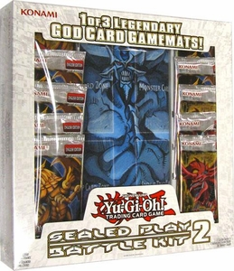 YuGiOh Battle of the Giants Sealed Play Battle Kit 2 [10 Packs & 1 Obelisk Playmat]