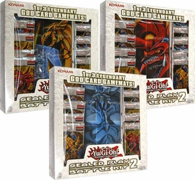 YuGiOh Battle of the Giants Set of 3 Sealed Play 2 Battle Kits [Obelisk, Slifer & Ra]