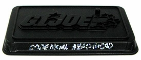 GI Joe 3 3/4 Inch LOOSE Action Figure Accessory Black G.I.Joe Stand [Random Nameplate]