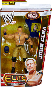 Mattel WWE Wrestling Elite Series 23 Action Figure John Cena [Cap, Dog Tags & T-Shirt!]