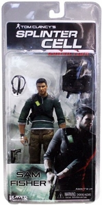 NECA Splinter Cell 7 Inch Action Figure Sam Fisher [No Body Armor]
